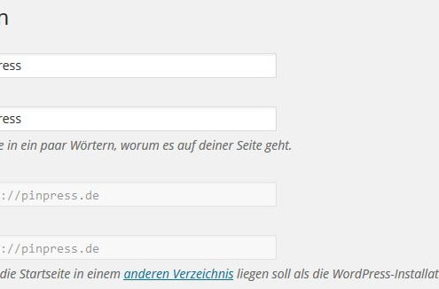 URL-WordPress