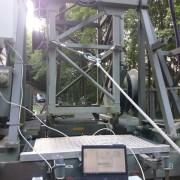 Richtfunk konfigurieren am Funkturm