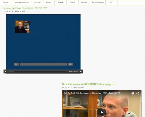 Website Gemeinschaftspraxis Krapf & Kaltenkirchen Videos