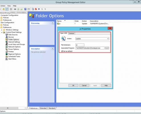 GPP Dateiendung verknüpfen