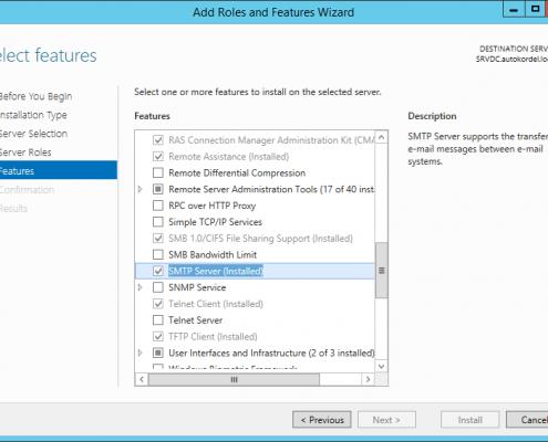 SMTP-Server Feature