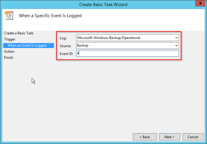 Windows Server Backup mit E-Mail Benachrichtigung - JustIT Services