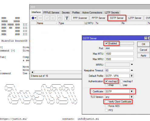 Enable SSTP-Server