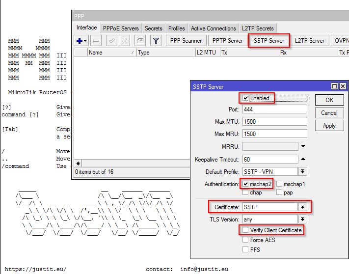 MikroTik SSTP VPN für Windows Clients - JustIT Services