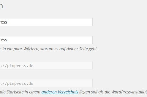URL-WordPress